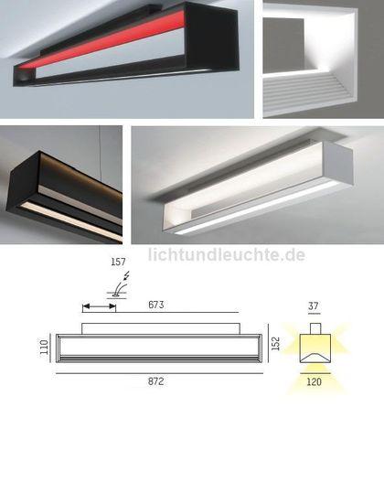 LED Deckenleuchte CHUNNEL 569-154095 von Moltoluce