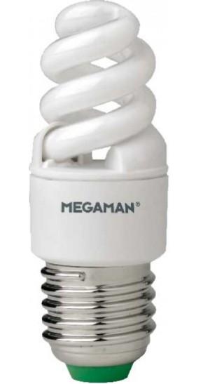 E27 superschlanke Energiesparlampe 8W 827 MM 29112 Megaman