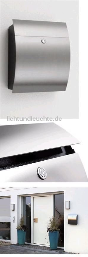 CMD Briefkasten ohne Glas in edelstahl 47