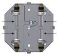 Unterbau für dimmbare Energiesparlampen 4xE27