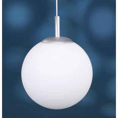 neu pendelleuchte globe 30 in opalglas kugel weiss. Black Bedroom Furniture Sets. Home Design Ideas