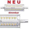 LED Halogenstab 118mm 14W dimmbar als 150W-Ersatz